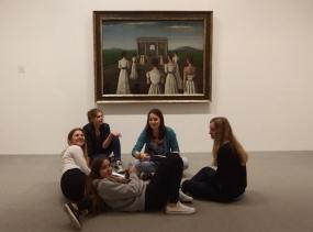 Gruppenarbeit im Sprengelmuseum