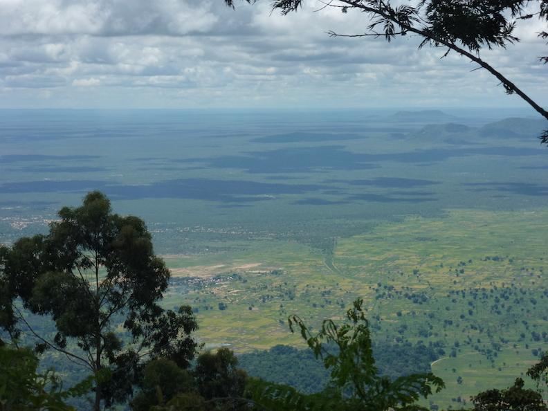 10 Blick in die Ebene von Gonja aus Tansania 2014 1374
