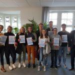 Erneute Glückwünsche für JtfO-Teilnehmer