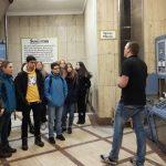 Chemie eA-Kurs zu Besuch in der Brauerei