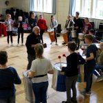 Samba-Workshop der Klasse 7b