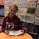 Vorlesewettbewerb – Stadtentscheid – Josephine wird Zweite