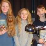 Vorlesewettbewerb 2017: Emma Krojanski wird Schulsiegerin im Vorlesen