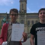 Bismarckschule erstmalig bei Roboter-Olympiade