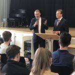 Europatag mit ehemaligem Bismarckschüler Michael Reuther