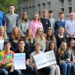 Klasse 11d belegt 1. Platz beim Wettbewerb Mathematik ohne Grenzen!