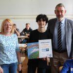 Karl gewinnt Diercke Wissen-Erdkunde-Wettbewerb