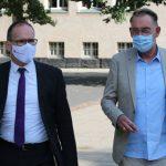 Kultusminister Tonne besucht die Bismarckschule