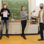 Jonas Kasting erfolgreich bei ChemieOlympiade!