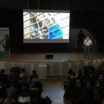 Multimedialer Vortrag von Ingo Espenschied über die Rolle der EU