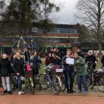 Fahrradstaffel der UNESCO-Projektschulen