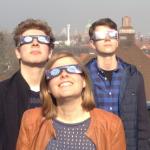 So erlebten Bismarckschüler die Sonnenfinsternis 2015